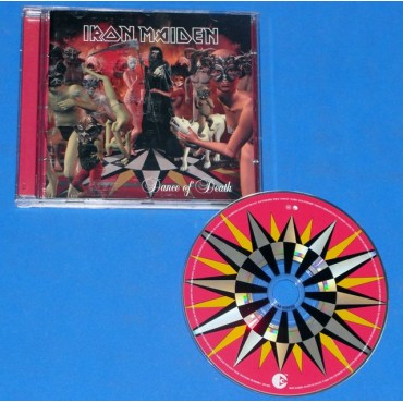 Iron Maiden - Dance of death - Cd - EMI Records - Brasil - 2003 - 1 prensagem