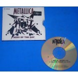 Metallica - Hero Of The Day - Cd Single - USA - 1996