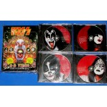 Kiss - Psycho Circus - Cd + VHS + Oculos - USA - 1998 - Box