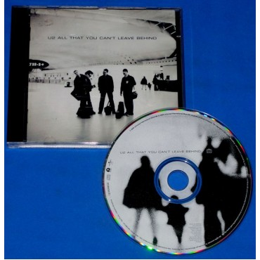 U2 - All That You Cant Leave Behind - 2000 - Brasil