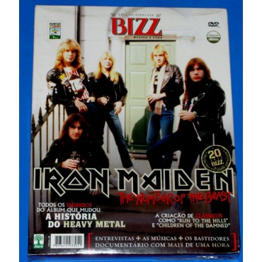 Iron Maiden - The Number of the Beast - DVD Classic Albums - 2006 - Lacrado