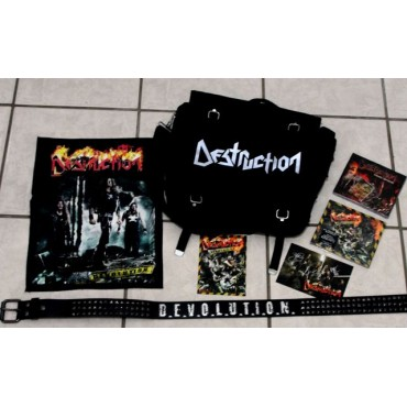 Destruction - Devolution Fan Bag - Alemanha - 2008 - Cds Lacrados