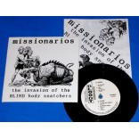 "Missionarios - The invasion of blind - 7"" Psychobilly 1993 - Catalepticos"