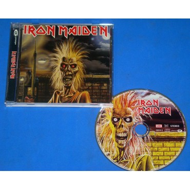 Iron Maiden - 1° - Cd - EMI Records - 1998 - Brasil