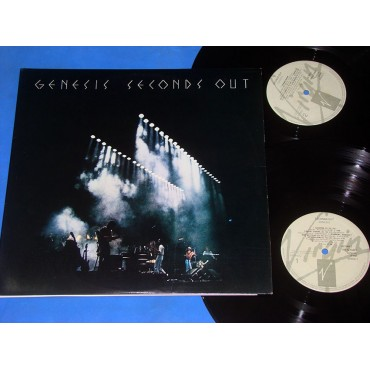 Genesis - Second out - Lp Duplo - 1989 - Brasil