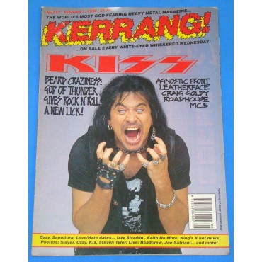 Kiss - Kerrang! - 377 - 1992 - UK
