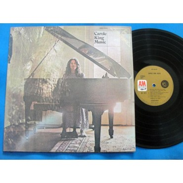 Carole King - Music - Lp - 1972 - Brasil