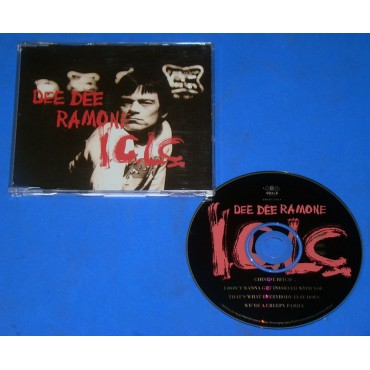 Dee Dee Ramone - I.G.L.C - Cd Single - 1994 - UK - Ramones